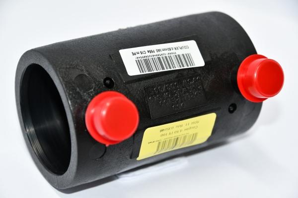 Połączenie elektrozgrzewalne proste - mufa PE100 SDR11 Ø 50 mm