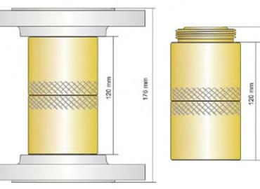 Przerywacz płomienia detonacji stabilnej PPD-02